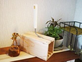 コロコロBOX(粘着カーペットクリーナー用木製BOX)の画像