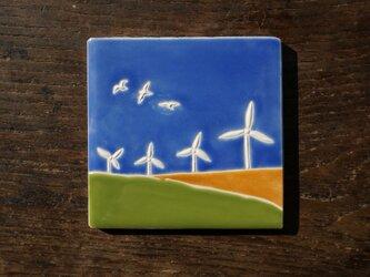 風車とカモメ Molinos y Gaviotasの画像
