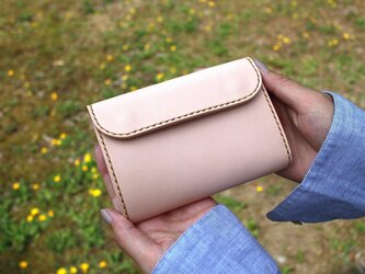 【受注生産品】三つ折り財布 ~栃木サドルレザー~の画像