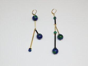 Imitation blueの耳飾り(ピアス/イヤリング)の画像