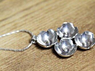 銀のあじさい silver ネックレスの画像