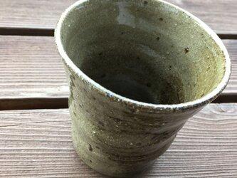 灰釉 フリーカップの画像