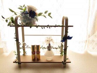 143:お部屋に♪プリザーブドフラワーの小物スタンド。の画像