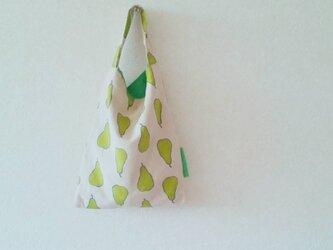 小さなおつかいbag  洋梨柄の画像