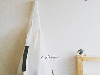 シンプルワンハンドルbag  ホワイトリネン の画像