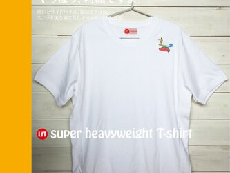 nao様専用 フラ刺繍 ヘビーウェイト Tシャツの画像
