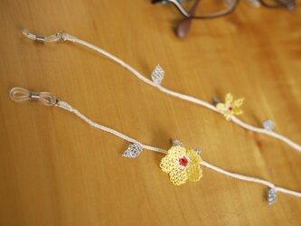 イーネオヤの眼鏡ストラップ (黄色)の画像