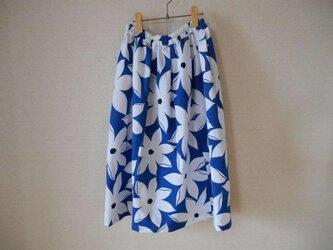 新品浴衣地のスカートの画像