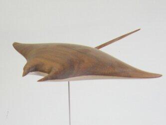 空飛ぶマンタ オブジェの画像