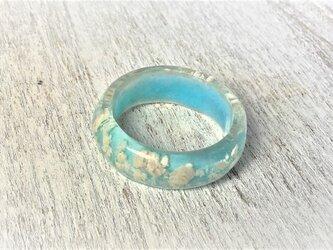 空を流れる雲の指輪(ベビーブルー・スカイ)の画像
