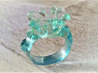 水滴の指輪☆南国ラグーンの画像