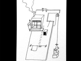 「秘密基地07」ポストカードセットの画像
