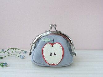 林檎のがまぐち(受注製作)の画像