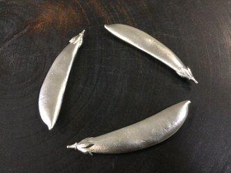 スナップエンドウの箸置きの画像