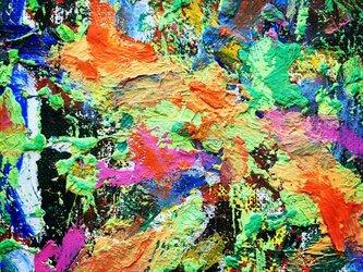 『 FLOWER Ⅱ』(油絵の複製プリント)の画像