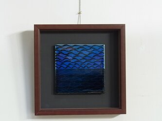Blue Wave (陶板)の画像