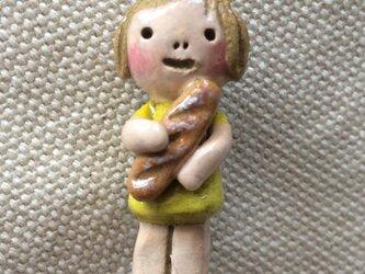 ブローチ【パン】の画像