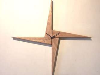 風車時計 <小サイズ> 木製掛け時計の画像