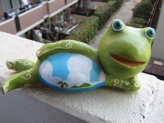 なまけ蛙くんグイードの画像