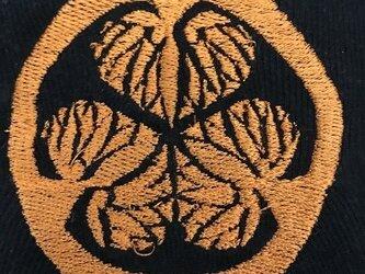 戦国・幕末 家紋Tシャツ(刺繍) 「徳川家康」の画像