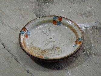 豆皿 百色(ももいろ)象嵌 角紋の画像