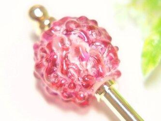 露の玉かんざし ピンクの画像