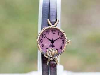 Lotus腕時計SSパープルの画像