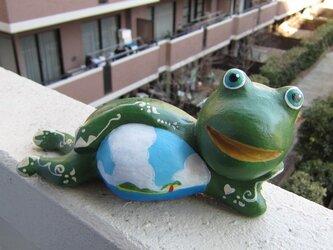 なまけ蛙くんマリオの画像