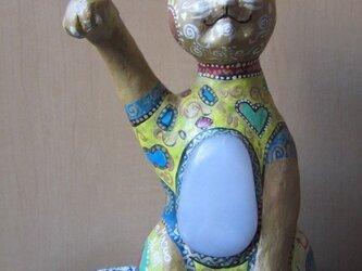 招き猫 孔明の画像