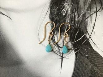 Sleeping Beauty Turquoise Pierceの画像