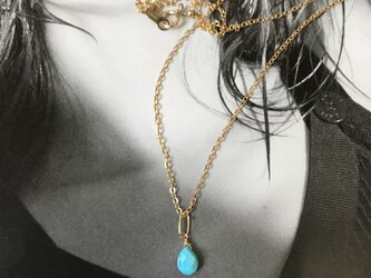 Sleeping Beauty Turquoise Necklaceの画像