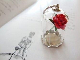 【ぼくのバラ】 ネックレスの画像