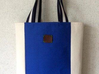 11号帆布のトートバッグの画像