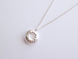 Silver カレンシルバーチャームのネックレスの画像