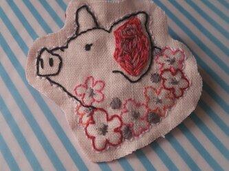 花好きブタ子の画像