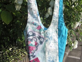 PATCCH ~French Rose Garden ブルー~の画像