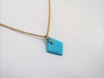 stone of bluesky 14Kgf necklaceの画像