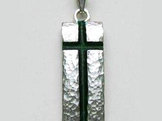 オリジナルクロス 信仰の詩(うた) 緑のクロス fc10の画像