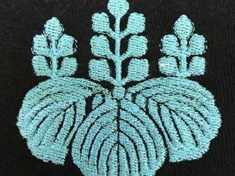 戦国・幕末 家紋Tシャツ(刺繍) 「豊臣秀吉」の画像