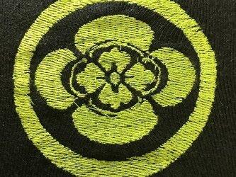 戦国・幕末 家紋Tシャツ(刺繍) 「沖田総司」の画像