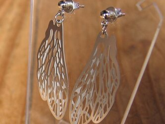 cometman ミニ蜂の羽 ピアス&イヤリング2の画像