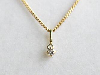 K18 ダイヤモンド ペンダント・トップの画像
