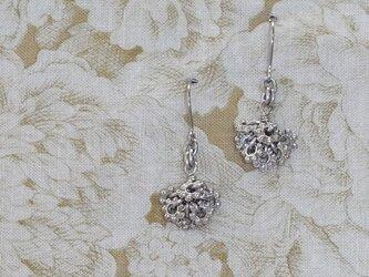 銀の花* チタンピアスの画像