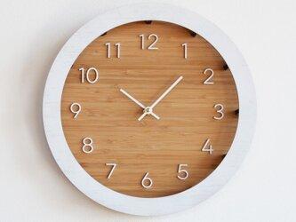 Minimal Wall Clock ミニマルな掛け時計の画像