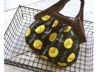 ミニ・グラニーバック/黄色花柄の画像