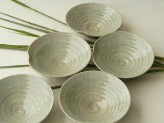 灰釉の取り皿の画像