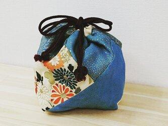 古布 しあわせ(四合わせ)袋の画像