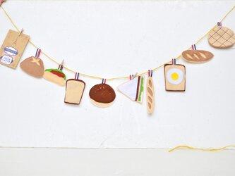 再販★焼き立て・美味しいパンのガーランドの画像