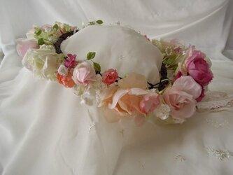 【フルオーダー受注制作】花かんむりの画像