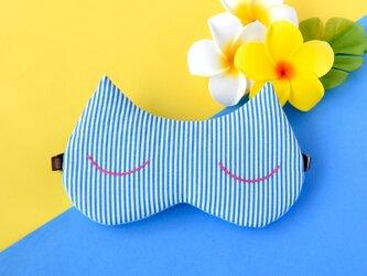 Summer Cat アイマスク/無料ポーチ付/旅行/ギフト/の画像